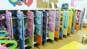 Карманы на шкафчик в детском саду