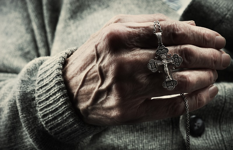 Крест пожилого человека