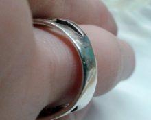 уменьшить размер кольца