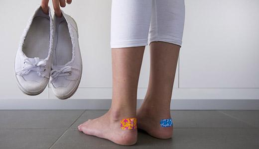Обувь натирает