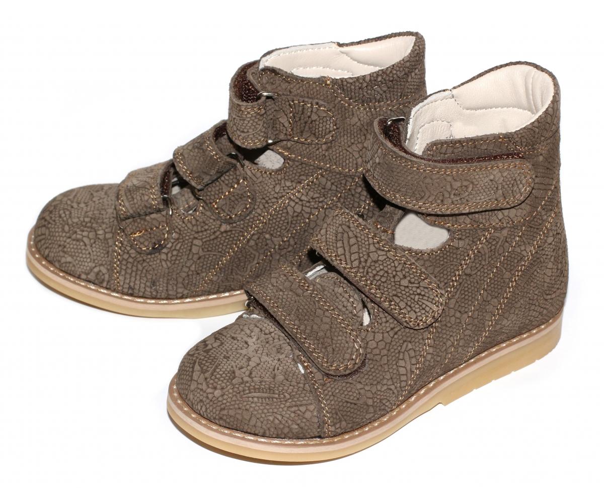 Ортопедические ботинки для коррекции варуса