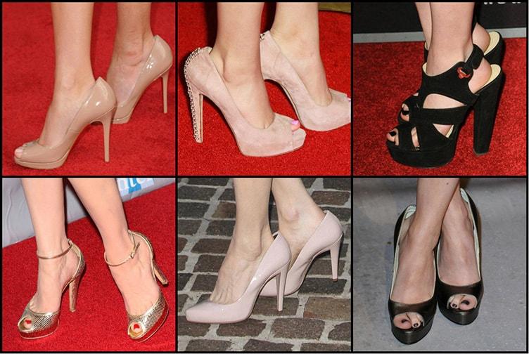звезды в больших туфлях