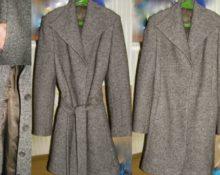 Как убрать следы от пуговиц на пальто