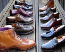ряды обуви