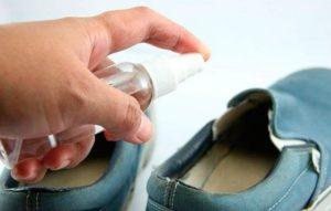 обработка обуви формидроном