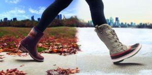 На какую температуру рассчитана демисезонная обувь?
