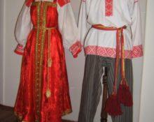 Свадебный костюм московской губернии