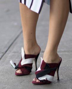 мюли на каблуке