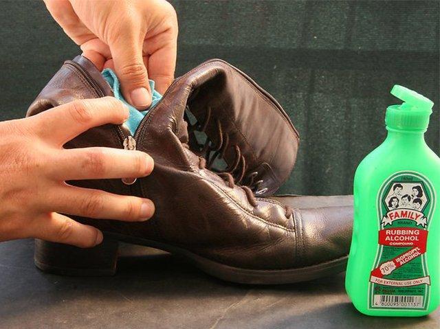 Смягчение обуви изнутри