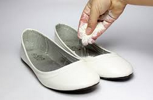 Сода от запах в обуви