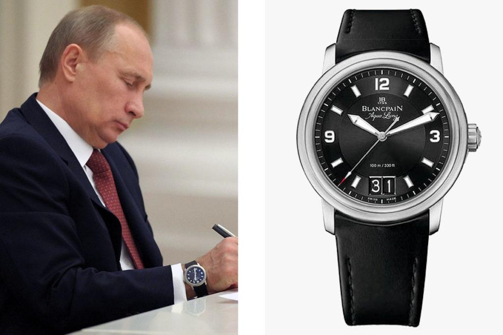 часы у Путина
