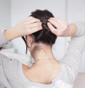 без шпилек на длинные волосы 3