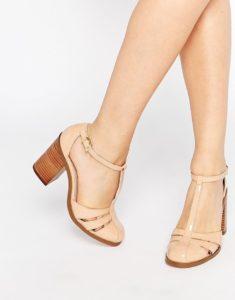 бежевые удобные туфли
