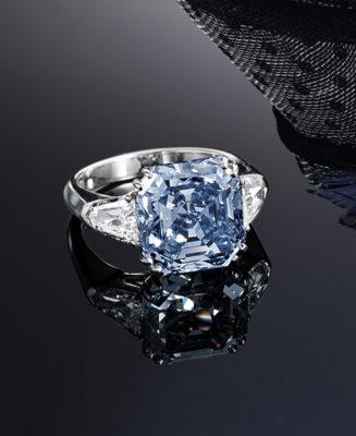 Blue Diamond Sotheby's Ring