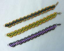 плетение бисером браслеты схемы для начинающих фото