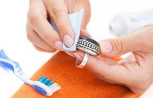 чистка серебряного кольца как почистить