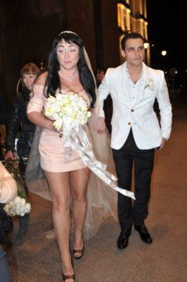 свадебное платье Лолиты Милявской