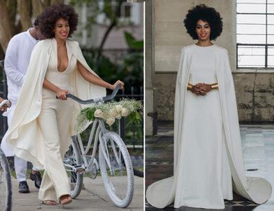 свадебное платье Соланж Ноулс