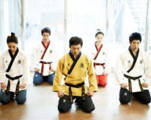 корейцы тхэквондо