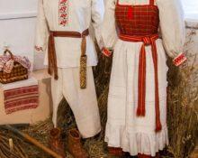 свадебный костюм народов калужской области