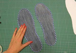 как сделать стельки для обуви своими руками