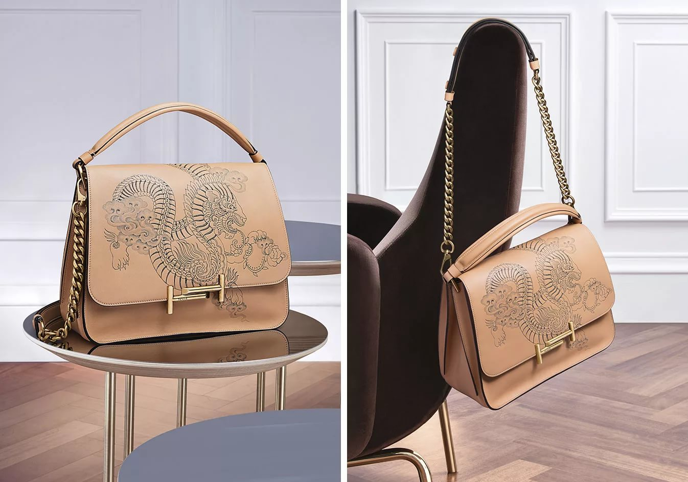 сумка на столе