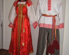 свадебный костюм народов самарской области