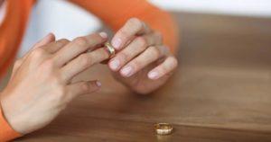 снять кольцо