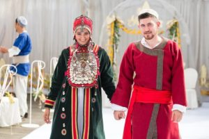 башкирский свадебный костюм