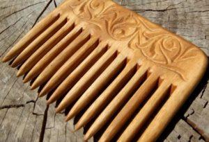 как сделать расческу из дерева