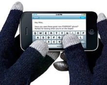 как сделать перчатки сенсорными