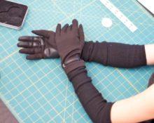 как сшить перчатки из трикотажа