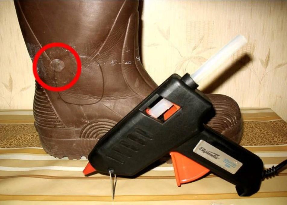 клеевой пистолет ремонт обуви