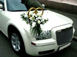 Кольца на машину для свадьбы своими руками