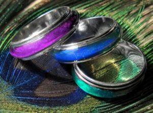 кольцо хамелеон 1