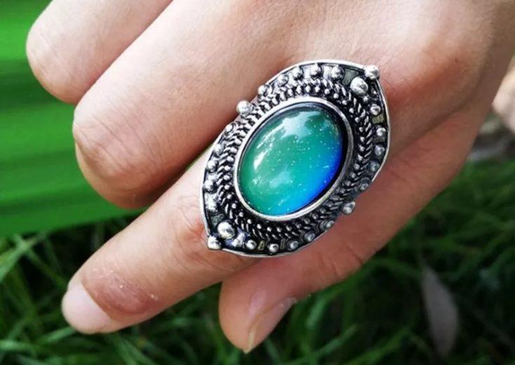 кольцо хамелеон 8