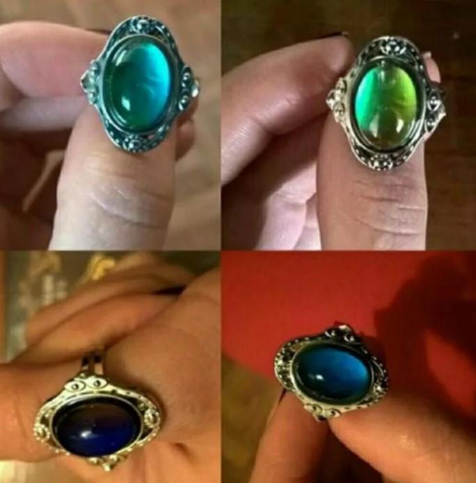 кольцо хамелеон 9