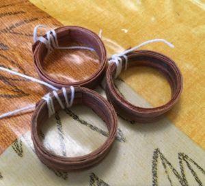 кольцо своими руками из дерева 5