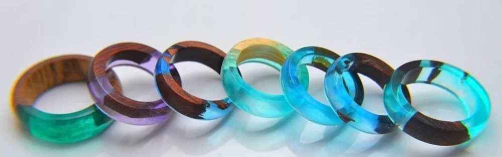 кольцо своими руками из дерева и эпоксидной смолы 1