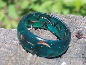 кольцо своими руками из эпоксидной смолы