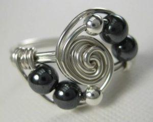 кольцо своими руками из проволоки 1