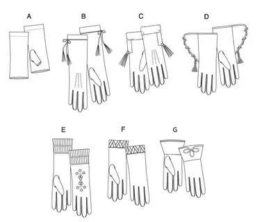 кожаные перчатки виды перчаток моделирование
