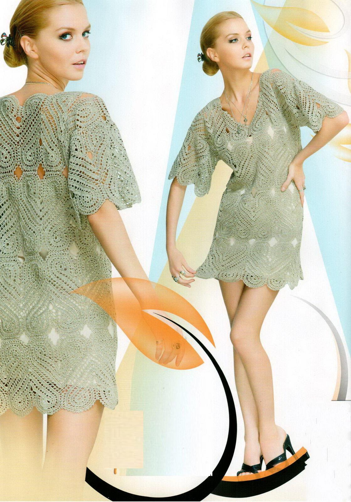 летнее платье модель 2