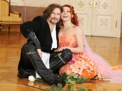 свадебное платье Марины Анисиной