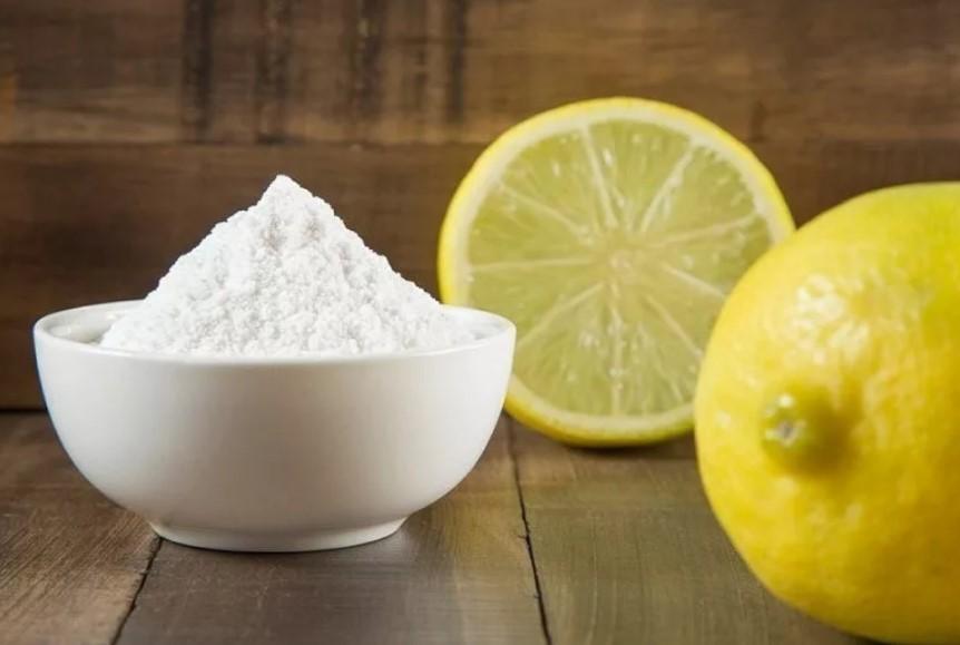 моча на обуви лимон и сода
