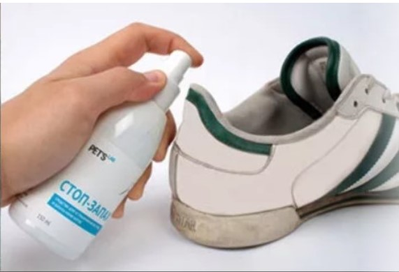 моча с обуви спрей