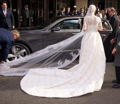 свадебное платье Ники Холтон