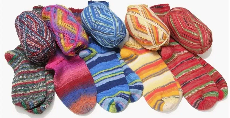 носки пряжа для носков