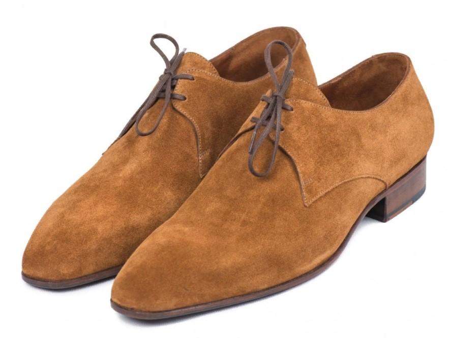 нубук мужские туфли