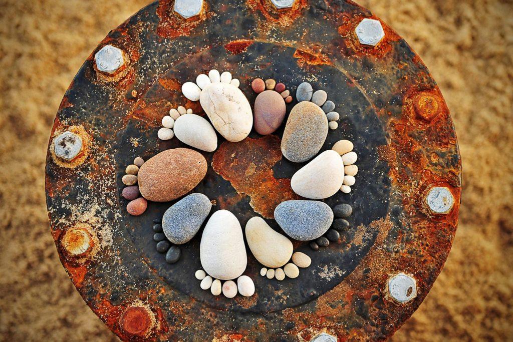 камни на зачатие